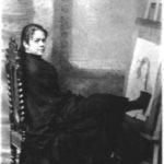 Aimée Rapin - Autoportrait